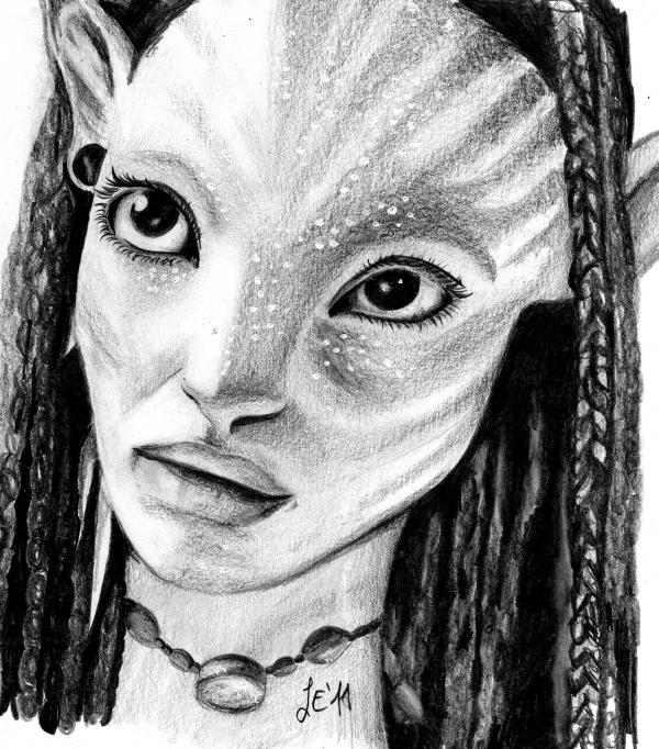 Avatar Film: Portrait Of Avatar (film) By Leonie91 On Stars Portraits